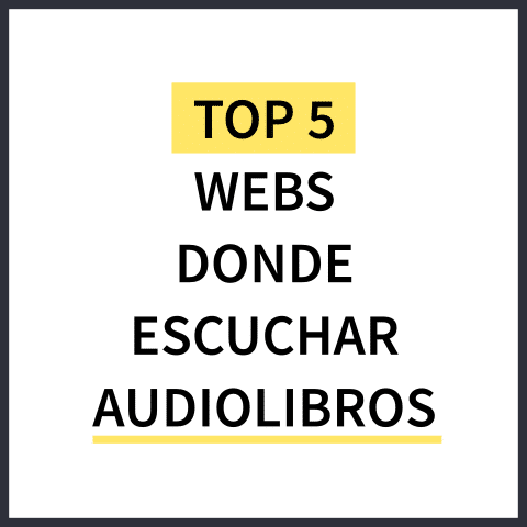 Top 5 webs donde escuchar audiolibros
